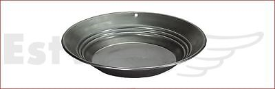 "Estwing Steel Gold Pan 254 mm 10"" 224 gram 8 oz Geological Prospecting Sifting"