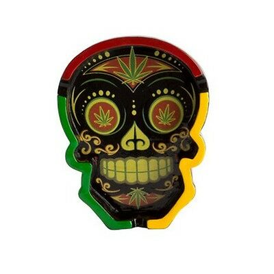 Candy Skull Ashtray Weed Red Gift Present Novelty Home Decor Kitchen Smoke Bar