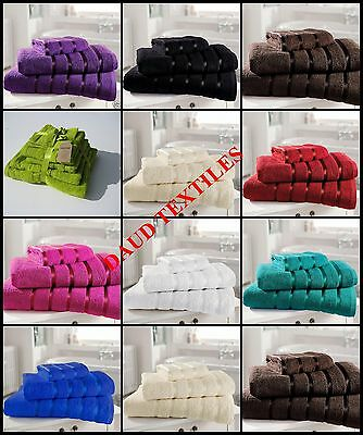 Luxury Cotton 10Pcs Bale Towel Set 600Gsm Coton 4 Face,4 Hand,2 Bath Towels