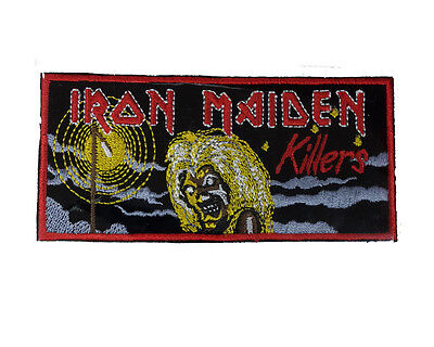 IRON MAIDEN Embroidered Iron On or Sew On Patch UK SELLER Patches