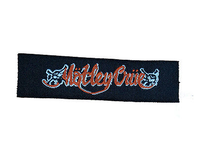 MOTLEY CRUE Embroidered Rock Band Sew On Patch UK SELLER Patches