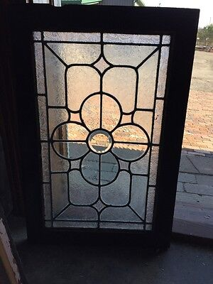 Sg 380 Antique Textured Floral Window