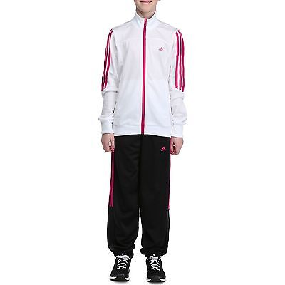 Official ADIDAS Girls Vigama Gym Sportswear/Tracksuit, Age: 5/6 Years