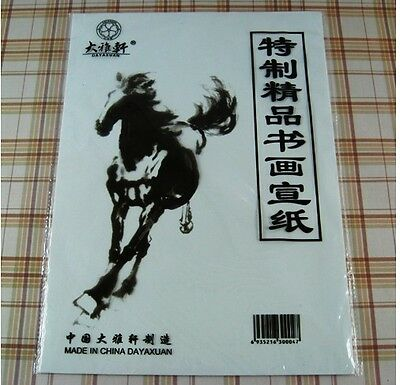38 Sheet  Rice Xuan Paper Learners Practice Chinese Painting Sumi-e Calligraphy