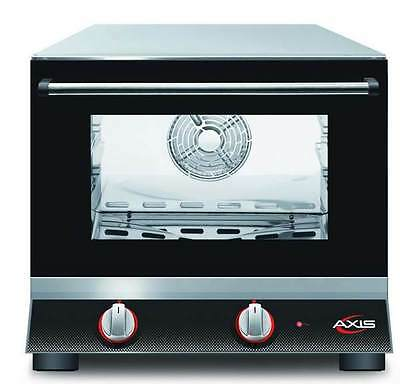 Axis AX-413 Commercial 1/4 Quarter-Size Electric Convection Oven MADE IN ITALY!