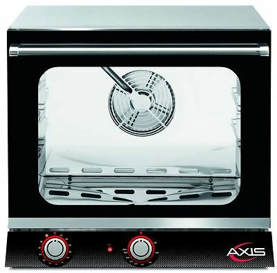 Axis AX-514H Commercial 1/2 Half-Size 4-Shelf Electric Convection Oven HUMIDITY