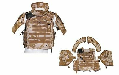 ORIG. BRITISH COVER-BODY-ARMOUR MKIII Tactical Vest Jacket Army camouflage BW