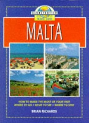 Malta (Globetrotter Travel Guide) By Brian Richards. 9781853684319
