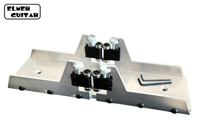 Fret Slotting Miter Box - Cut Fret Slots Smoothly & Efficiently, Sturdy Aluminum