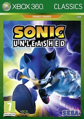 Sonic Unleashed Classics Edition Xbox 360 Game - Brand New And Sealed