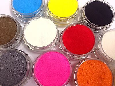 10ml embossing powder - Choice of many Colours! Wow! Heat it up