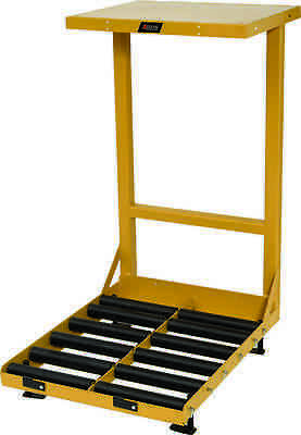 "BHS Battery Roller Stand (BS18-2) 18"" wide compartments & 8"" roller height"