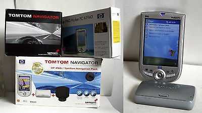 HP IPAQ POCKET PC H1940 + TOMTOM NAVIGATOR WIRELESS PACK EUROPA SD 1GB supporto