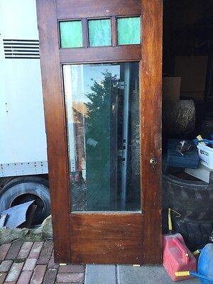 A.R. 15 Antique Arts And Crafts Door Asheville  Entrance Door 36 Inch