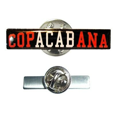 Metall Pin Anstecker Copacabana ACAB Hardcore 1312 ultras trouble kategorie Hool