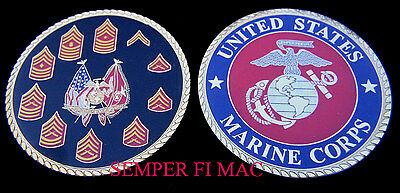 Xxl Us Marines Seal Challenge Coin Enlisted Mcrd Graduation Gift Boot Camp Wow