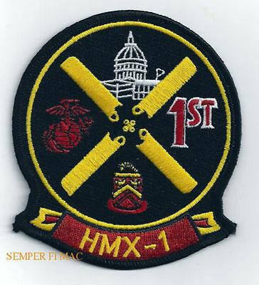 HMX-1 Helicopter Squadron One MCAS QUANTICO VA US MARINES PATCH PRESIDENT VIP