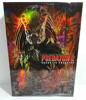 Hot Toys Mms126 Predator 2 Guardian Predator 14Inch 1/6 Figure New Avp Iron Man