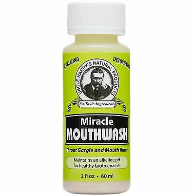 Uncle Harry's Natural Miracle Mouthwash (2 fl oz)
