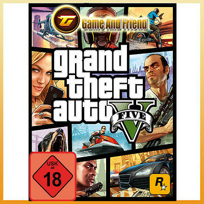 Grand Theft Auto V - GTA 5 - Digital Download [Steam] [PC] [EU] [FR]