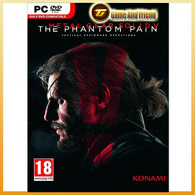 Metal Gear Solid V: The Phantom Pain MGS 5 Digital Download [Steam][PC][EU][FR]