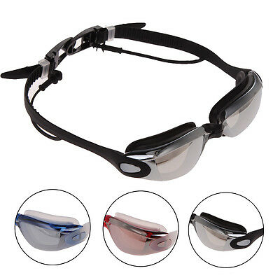Professional Adult Anti-fog Waterproof UV Protection Swimming Goggles Glasses