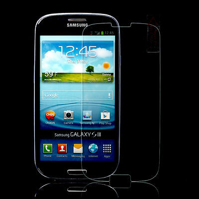 New Premium Tempered Glass Screen Protector Film For Samsung Galaxy S3 I9300