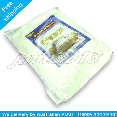 Waterproof double Mattress Protector Cover Fitted Plastic Sheet Bed