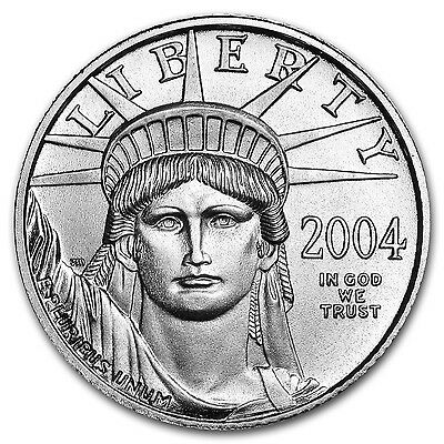 1/10 oz Platinum American Eagle Coin - Random Year - SKU #55