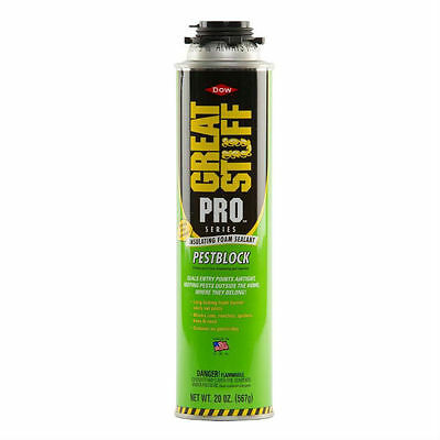 Dow Great Stuff Pro 20 oz Pestblock Insulating Foam Sealant - 11073754