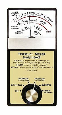 Trifield 100XE Electromagnetic Field (EMF) Meter easy use, reliable, versatile
