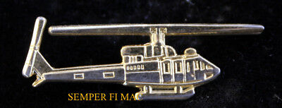 230 HELICOPTER LAPEL HAT PIN UP HELO PILOT CREW WING AIR WOLF BELL 222
