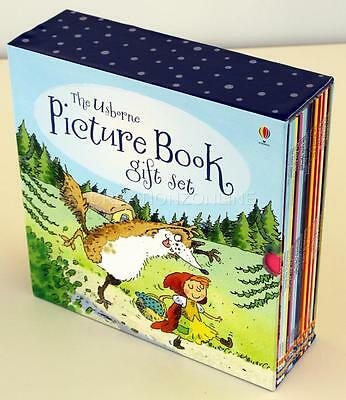 The Usborne Picture Book Gift Set 20 Books In Boxed Set New Story Fairy Tales