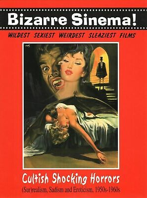 BIZARRE SINEMA! Cultish Shocking HORRORS. ed GLITTERING - Sconto 50%