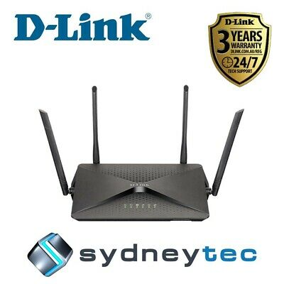 New D-Link DSL-3890 AC2300 Dual-Band MU-MIMO Gigabit VDSL2/ ADSL2+ Modem Router