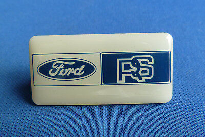 Rare  Ford Rs  Lapel Badge