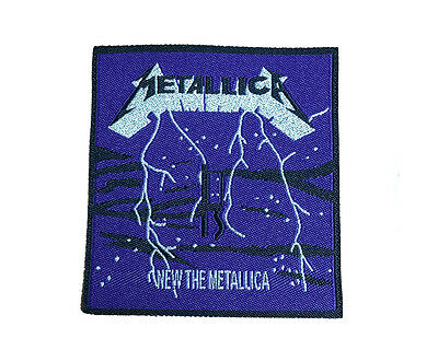 METALLICA Embroidered Rock Band Sew On Patch UK SELLER Patches