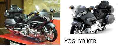 Modellino Honda Goldwing Gl 1800 Scala 1:12 Colore Dark Gray Scatola Originale