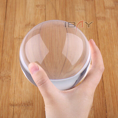 100mm Contact Ball - 100% Crystal Clear Acrylic Ball - Manipulation Juggling New