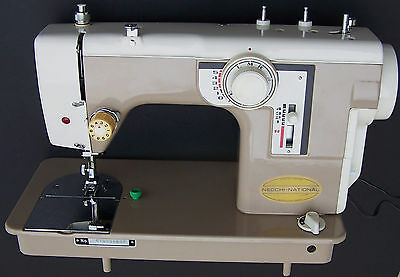 Beautiful! Vintage Necchi-National Sewing Machine with Foot Pedal - Very Clean!