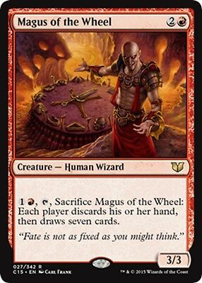 MTG Magic - (R) Commander 2015 - Magus of the Wheel - NM/M