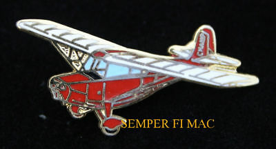 7ac AERONCA CHAMP HAT LAPEL PIN PILOT CREW SOLO GIFT WING AIRPLANE WOW