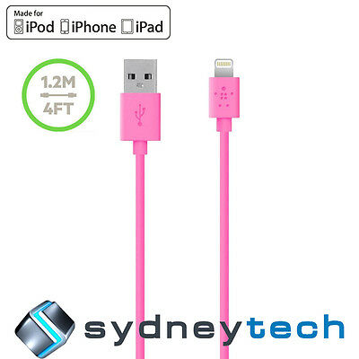 New Belkin MIXIT Lightning Cable 1.2m Pink