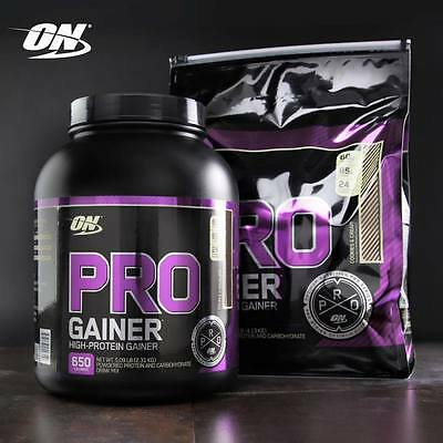 OPTIMUM NUTRITION PRO GAINR 5 lbs / 10 lbs Pro Complex Gainer - All Flavors