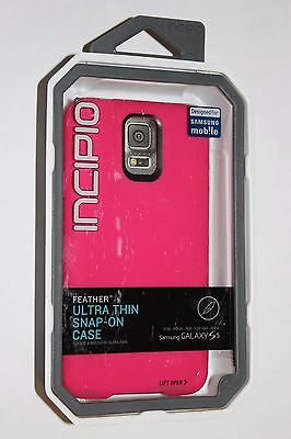 LOT OF 24 Incipio Feather Ultra-Thin Snap-On Case for Samsung Galaxy S5 - Pink