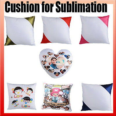 5x cushions / pillows with inserts dye sublimation ink heat press heat transfer