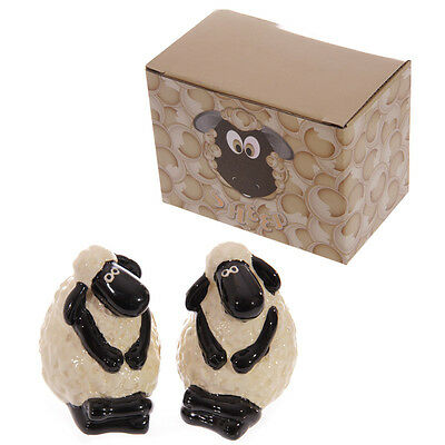 Salt & Pepper Set Sheep Design - Cute - Table - Kitchen - Countryside - Gift