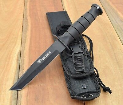 Smith & Wesson Search & Rescue Tanto Knife Survival Tactical Knives  SWSURT