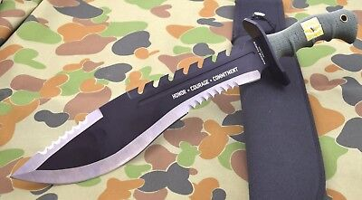 USMC Marine Force Recon Kukri Machete Knife stainless Tactical Knives  UC3011