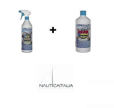 New Magic Decappante + New Gum Cream - Pulizia Gommone Lucida E Protegge